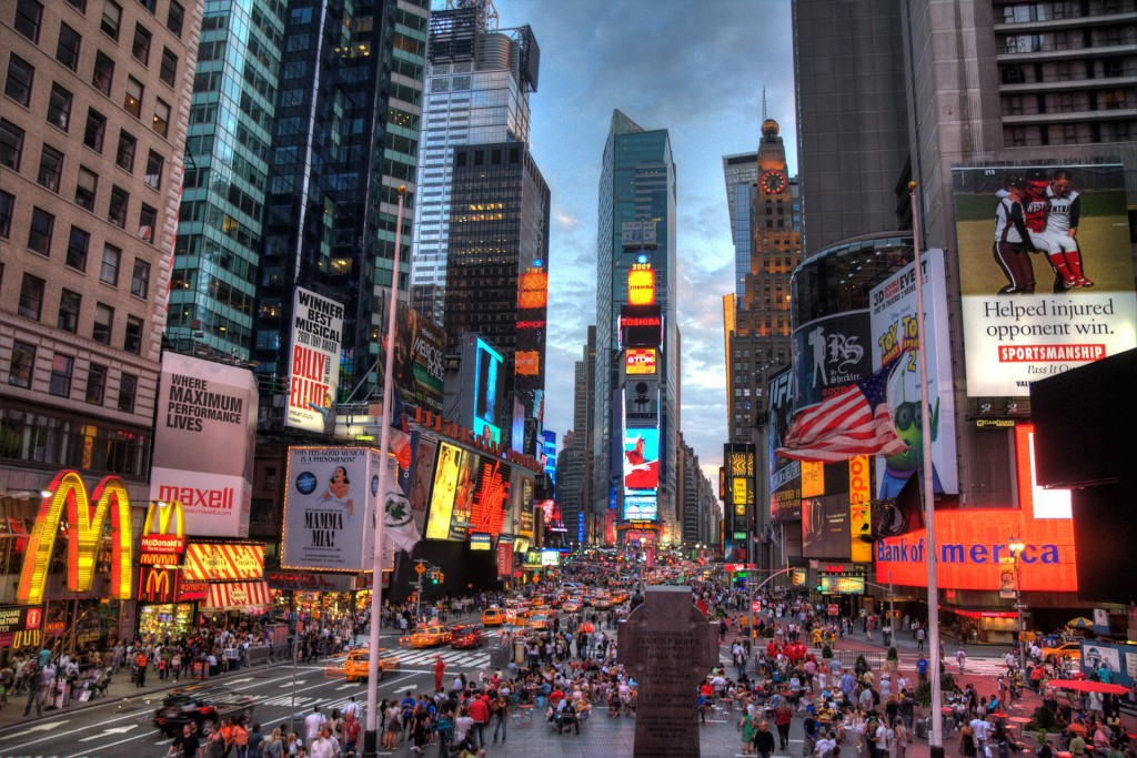 """New york times square-terabass"" by Terabass - Own work. Licensed under CC BY-SA 3.0 via Commons."