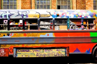 Photo of Choose Your Own Adventure bus