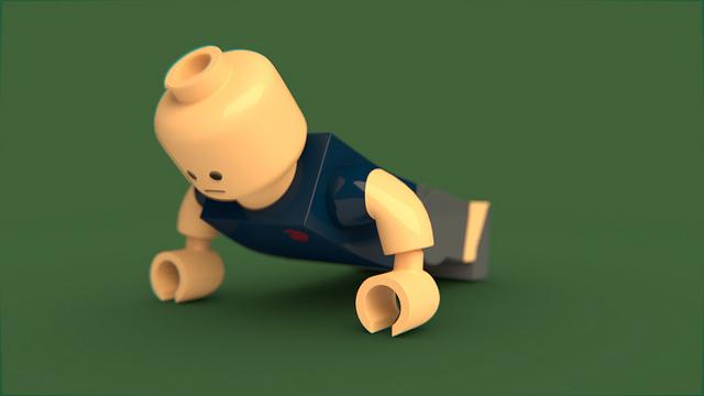 Lego Push Ups