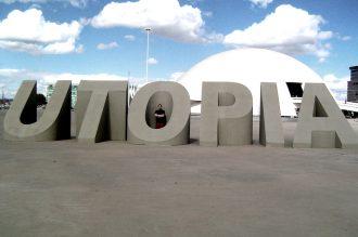 Escultura UTOPIA DA MODERNIDADE